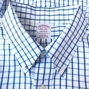 Brooks Brothers Madison No Iron Dress Shirt 17-35